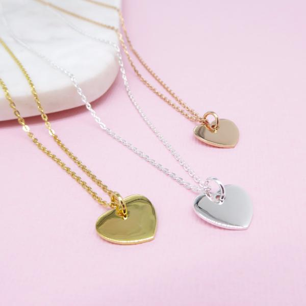 Heart Necklace (Gold) - Correy & Lyon Jewellery