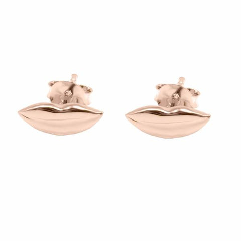 Mouth Studs (Rose Gold) - Correy & Lyon Silver Jewellery