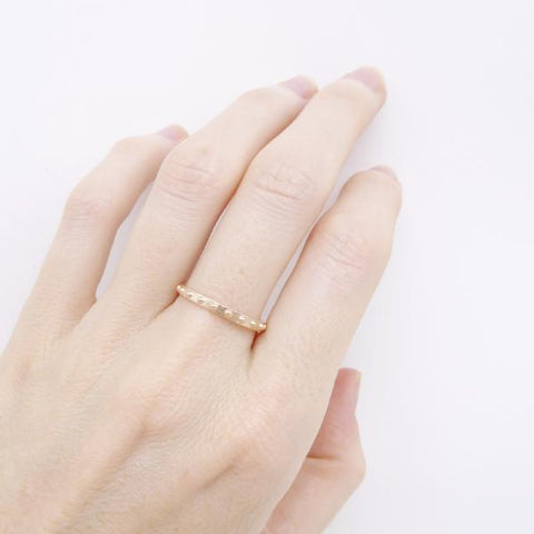 Mini Ball Eternity ring rose gold- Correy & Lyon jewellery