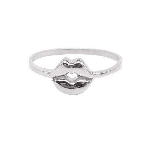 Mouth Ring (Silver) - Correy & Lyon Silver Jewellery