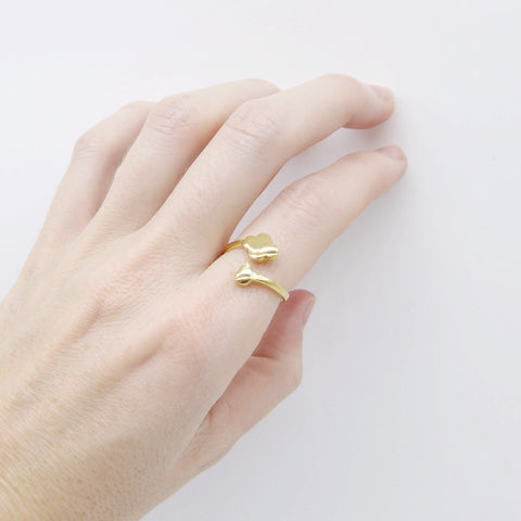 Storm ring gold - Correy & Lyon jewellery