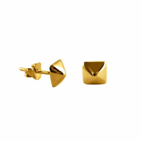 Stud earrings 14k gold - Correy & Lyon jewellery