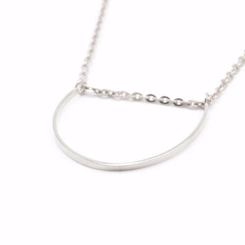 U Necklace (Silver) - Correy & Lyon Silver Jewellery