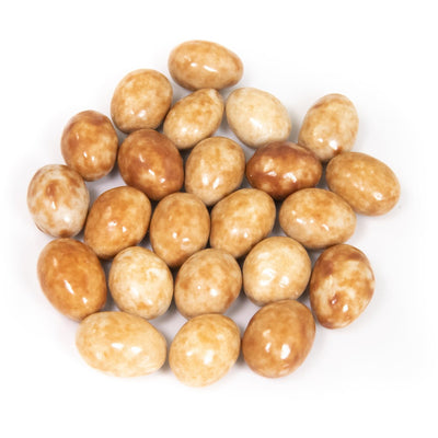 Milk and White Chocolate Caffe Latte Covered Almonds