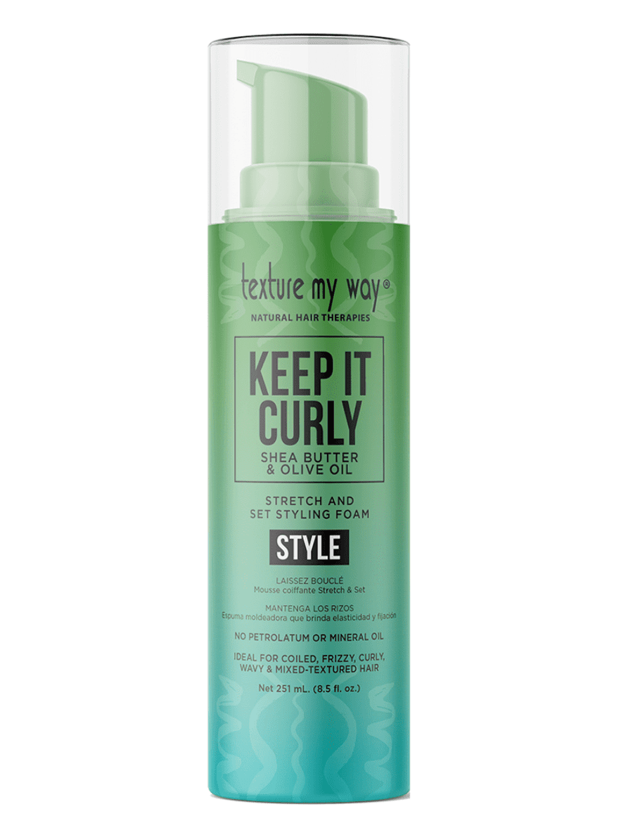 Keep It Curly Stretch & Set Mousse coiffante - en gros
