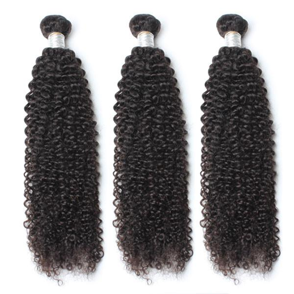 Confection de perruque avec 3 tissages Kinky Curly et une Frontal