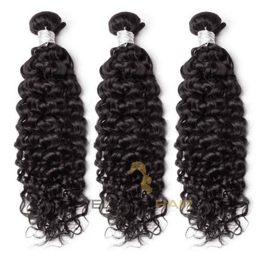 3 tissages Deep Curly avec ou sans Frontal - VELVETY PARIS