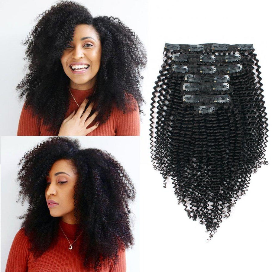 Clip in Afro Kinky Curly - VELVETY PARIS