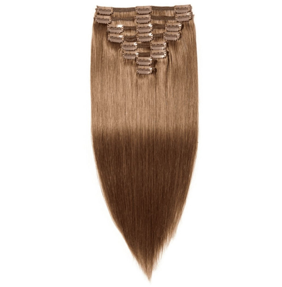 Clip in Lisse Couleur 6# - VELVETY PARIS