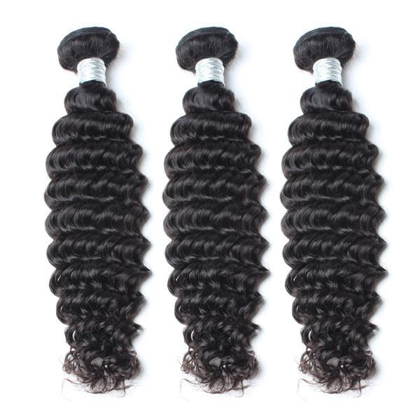 Confection de perruque avec 3 tissages Deep Wave et une Frontal