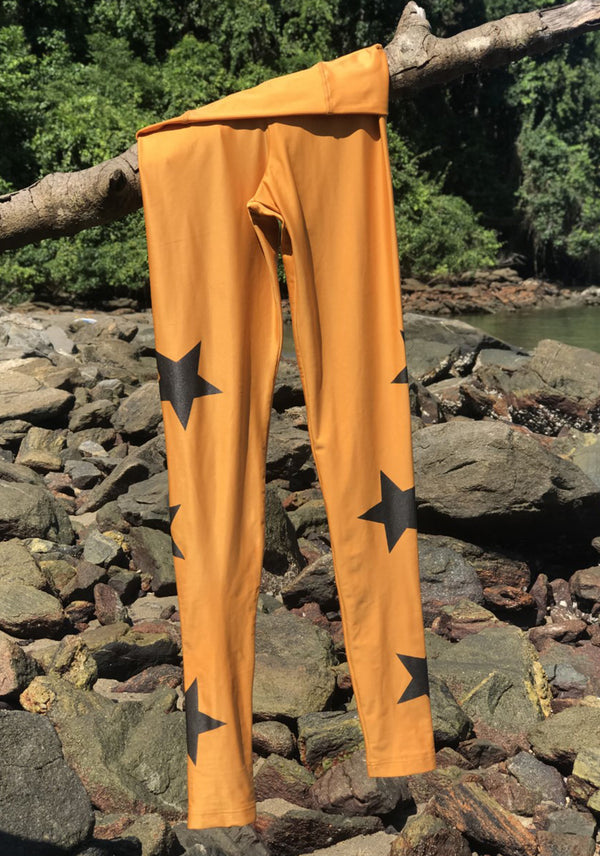 LEGGING STARS GOLD 2Peace2Dance