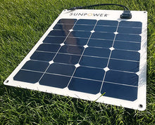 Load image into Gallery viewer, SunPower 170 watt flexible solar panels (6x8) (110 and 50 watt options available)