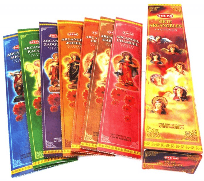 Angel Items 7 Archangels Hem Incense
