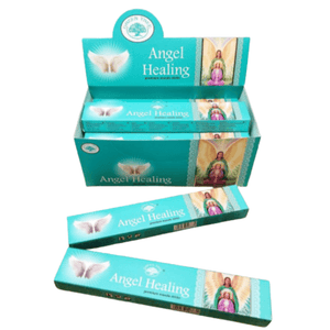 Angel Items ANGEL HEALING Incense Sticks | Premium Masala Incense Sticks from Green Tree | 15 gram package