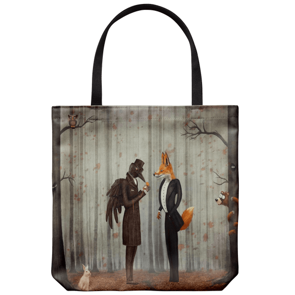 Bags A Meeting in the Woods Forest Encounter Tote