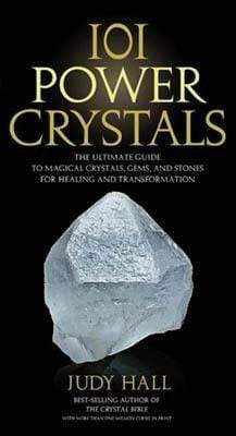 Books 101 Power Crystals by Judy Hall