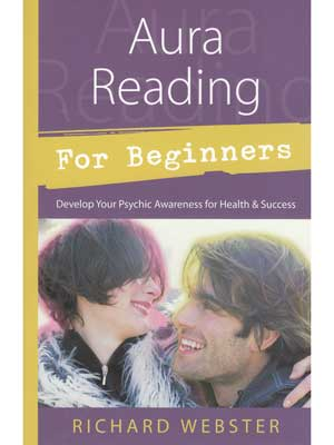 Books Aura Reading for Beginners by Richard Webster