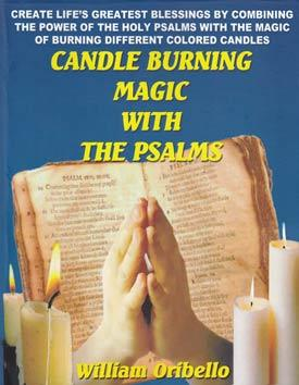 Books Candle Burning Magic with the Psalms by William Oribello