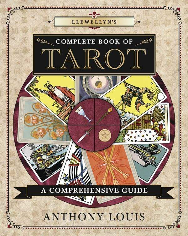 Books Llewellyn's Complete Book of Tarot by Anthony Louis