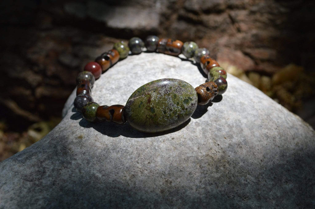 Bracelets Healing Bracelet - Activation - Dragon Blood Stone