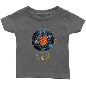Clothing Infant T-Shirt / Asphalt / 6M The Foxes Den - Infant T-Shirt