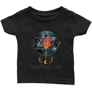 Clothing Infant T-Shirt / Black / 6M The Foxes Den - Infant T-Shirt
