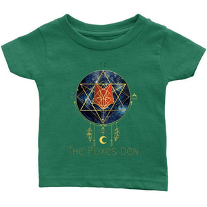 Clothing Infant T-Shirt / Grass Green / 6M The Foxes Den - Infant T-Shirt