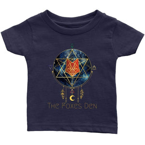 Clothing Infant T-Shirt / Navy Blue / 6M The Foxes Den - Infant T-Shirt