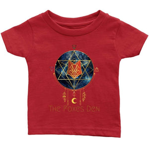 Clothing Infant T-Shirt / Red / 6M The Foxes Den - Infant T-Shirt