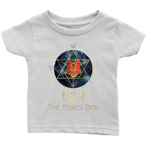Clothing Infant T-Shirt / White / 6M The Foxes Den - Infant T-Shirt