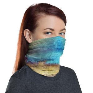 Clothing Message in a Bottle Neck Gaiter Mask