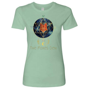 Clothing Next Level Womens Shirt / Mint / S The Foxes Den - Next Level Women's Shirt