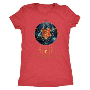 Clothing Next Level Womens Triblend / Vintage Red / S The Foxes Den - Next Level Women's Tri-blend