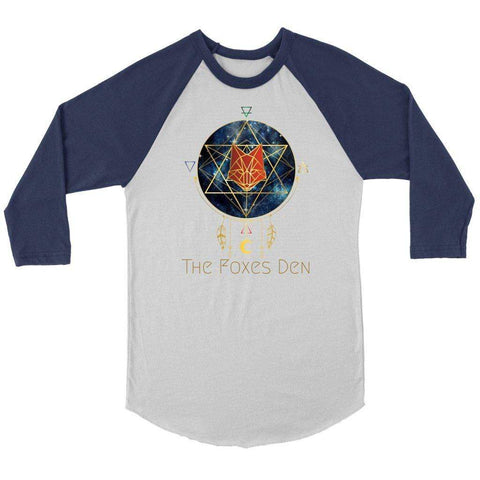 The Foxes Den - 3/4 Raglan