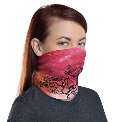 Sunset Stroll Neck Gaiter Mask