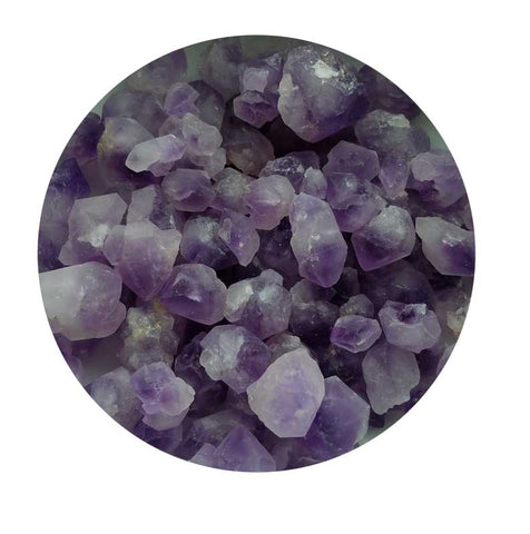 Amethyst Small Terminated Points, B Grade | 1 lb