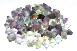 Crystal Raw Green Flourite Octahedral Raw Stones | 1 lb