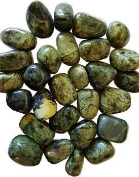 Crystal Tumbled Asterite Serpentine Tumbled Stones Crystals | 1 lb