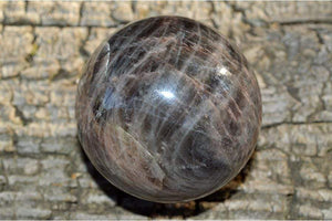 Crystal Wholesale 66.02 mm Black Moonstone Crystal Sphere