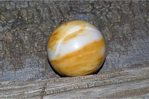 Australian Yellow & White Mookaite