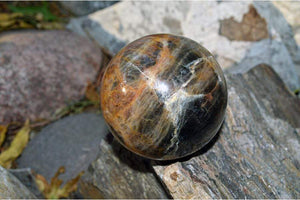 Crystal Wholesale Black Moonstone Crystal Sphere