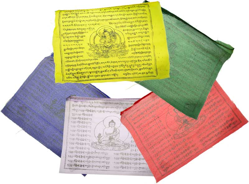 Flags & Pennants Tibetan Green Tara Prayer Flag 9