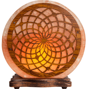 Lamps DreamCatcher - Large Electric Himalayan Salt Lamp w/ Multiple Designs!  Small and Large Sizes