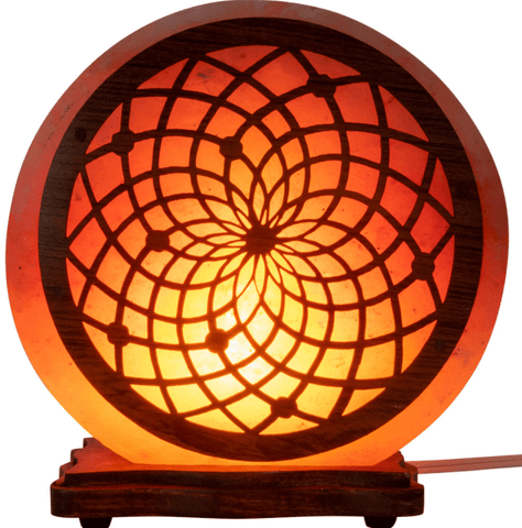 Electric Himalayan Salt Lamp w/ Multiple Designs!  Small and Large Sizes