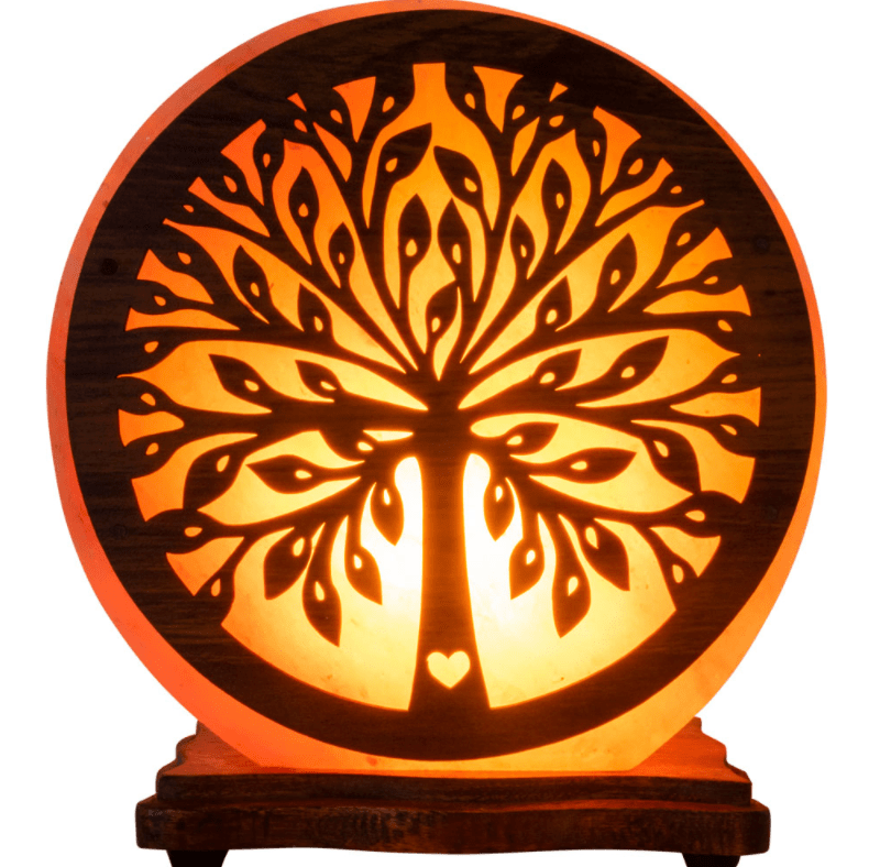 Lamps Tree of Life - Large Electric Himalayan Salt Lamp w/ Multiple Designs!  Small and Large Sizes