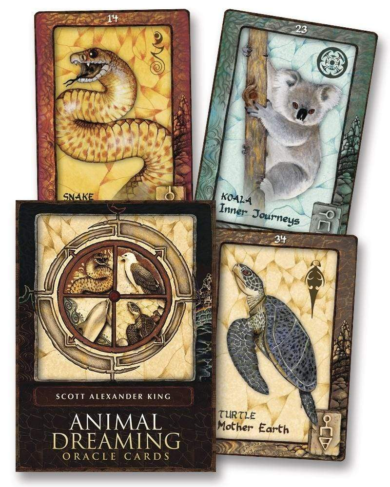 Oracle Cards Animal Dreaming Oracle by Scott Alexander King & Karen Branchflower