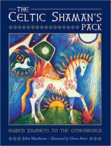 Celtic Shaman's Pack Deck & Book by Matthews & Potter
