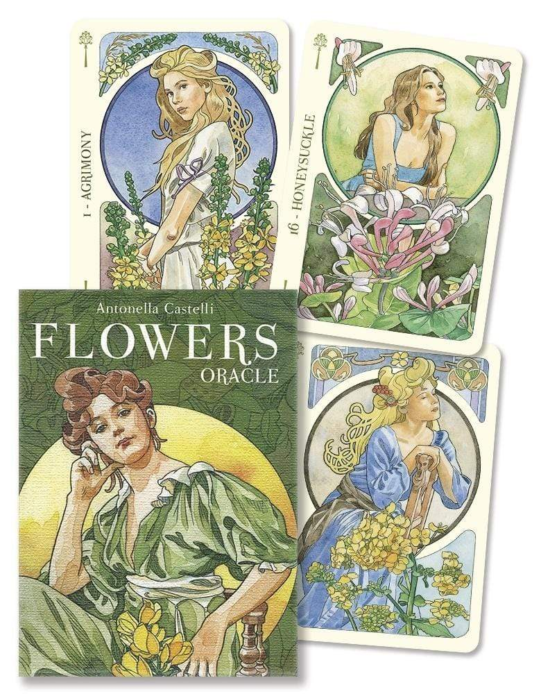Oracle Cards Flowers Oracle by Antonella Castelli