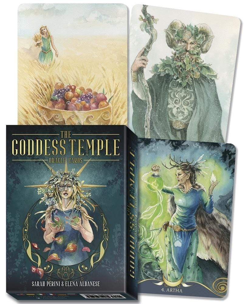Oracle Cards The Goddess Temple Oracle Cards by Sarah Perini, Elena Albanese