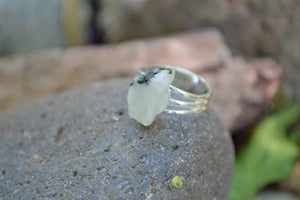 Rings Large Manifestation Ring - Goddess Intuition - Moonstone